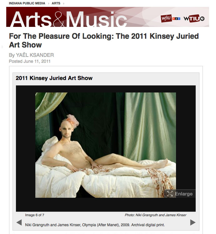 Indiana Public Media: Kinsey Institute Juried Show - 2011
