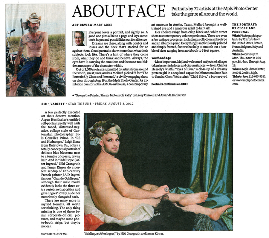 Minneapolis Star Tribune: About Face